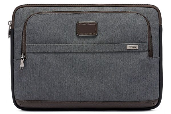 Large image of TUMI Alpha 3 Anthracite Large Laptop Cover - 1172561009