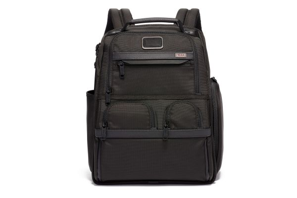 Large image of TUMI Alpha 3 Black Compact Laptop Brief Pack - 1172971041