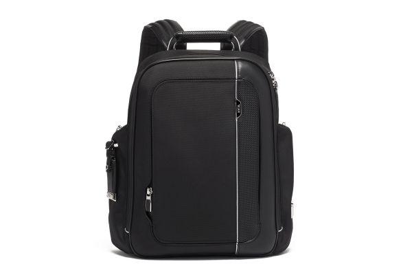 Large image of TUMI Arrive Black Larson Backpack - 1173271041