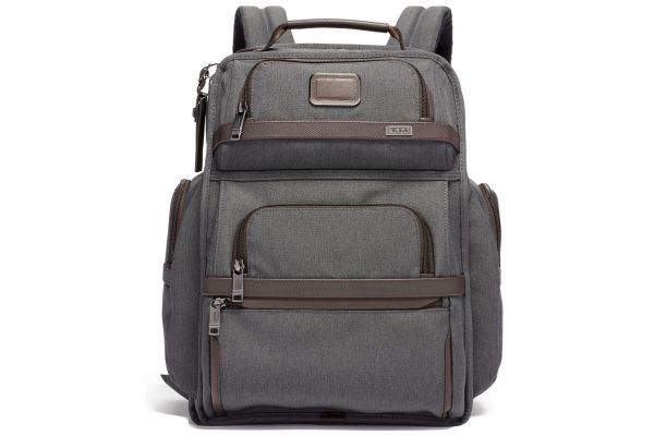 Large image of TUMI Alpha 3 Anthracite Brief Pack - 1173381009