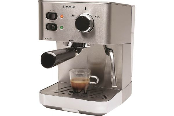 Large image of Capresso EC PRO Espresso And Cappuccino Machine - 11805