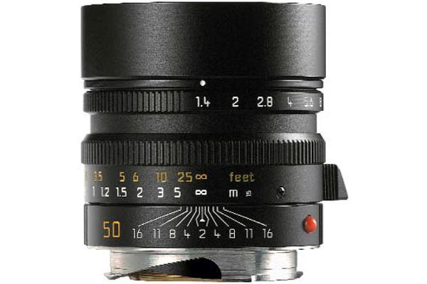 Large image of Leica Summilux-M 50mm f /1.4 ASPH Lens - 11891