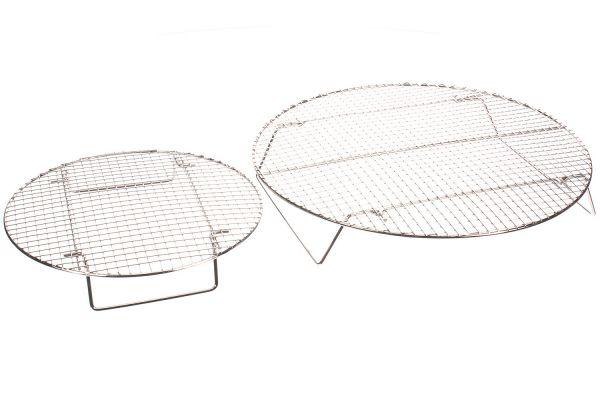 Evo Stainless Steel Circular Roasting & Baking Racks - 12-0117-AC
