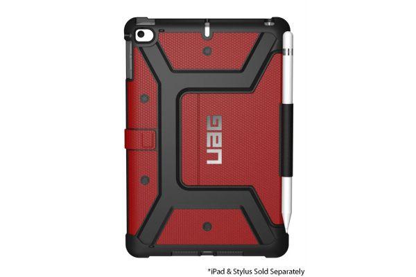 Large image of Urban Armor Gear Metropolis Magma Red iPad Mini 5 Case - 121616119393