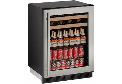 U-Line - U-1224BEVS-13B - Wine Refrigerators and Beverage Centers