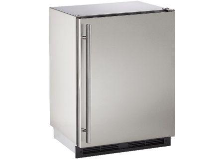 "U-Line 1000 Series 24"" Stainless Steel Outdoor Refrigerator - U-1224RSOD-00B"