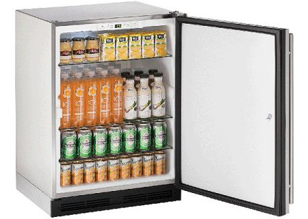 "U-Line 1000 Series 24"" Stainless Steel Outdoor Refrigerator - U-1224RSOD-13A"