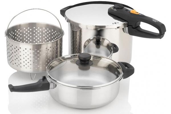 Large image of Zavor DUO 5-Piece Pressure Cooker Set - ZCWDU05