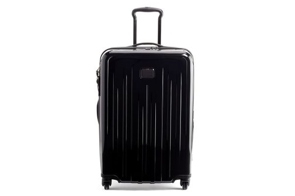Large image of Tumi V4 Black Short Trip Expandable 4 Wheeled Packing Case - 1248591041