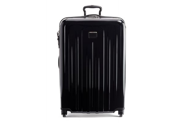 Large image of TUMI V4 Black Extended Trip Expandable 4 Wheeled Packing Case - 1248601041