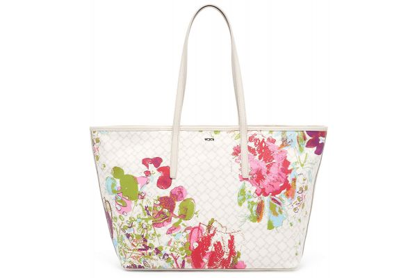 Tumi Ivory Collage Floral Everyday Tote - 1250718135