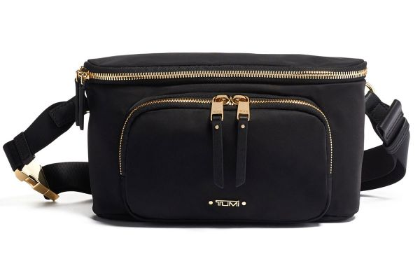 Tumi Voyageur Black Madison Hip Bag - 1250841041