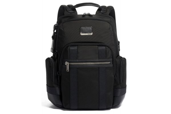 Large image of TUMI Alpha Bravo Black Nathan Backpack - 1253311041