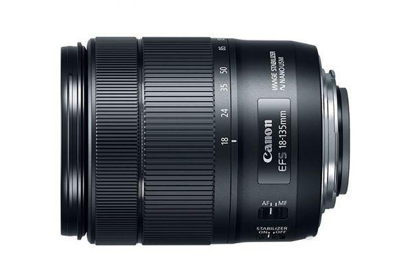 Large image of Canon EF-S 18-135mm f/3.5-5.6 IS USM Lens - 1276C002
