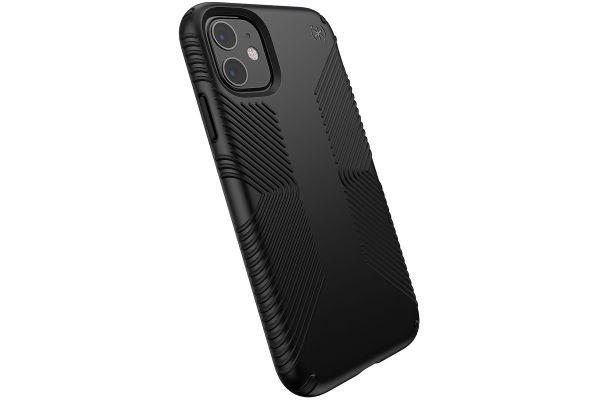Large image of Speck Presidio Grip Black Apple iPhone 11 Case - 129909-1050