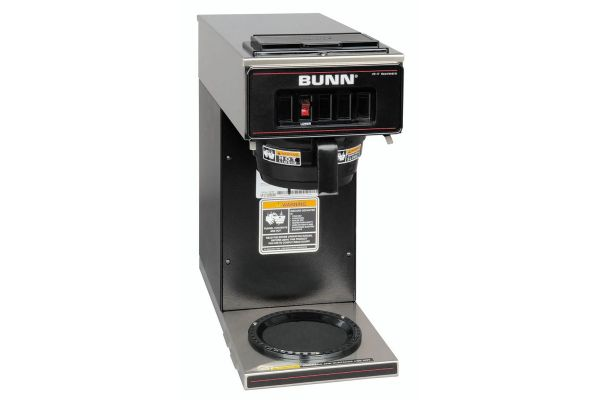 Large image of BUNN VP17 12 Cup Low Profile Pourover Coffee Brewer - 13300.0011