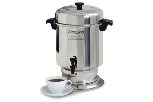 Large image of West Bend 55 Cup Commercial Coffee Urn - 13550