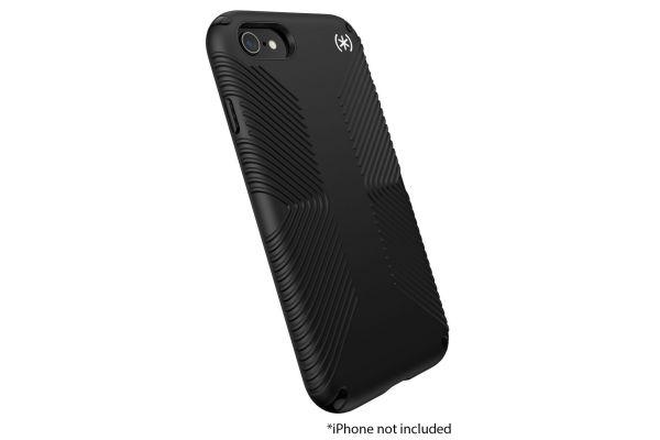 Large image of Speck Presidio 2 Grip Black Apple iPhone 8/SE (2020) Case - 136210-9116