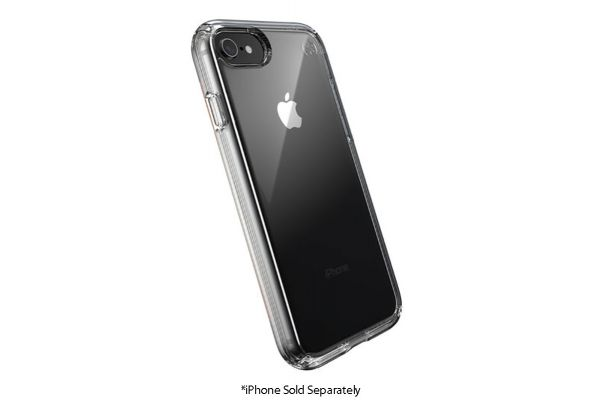 Large image of Speck Presidio Perfect-Clear iPhone SE(2020)/8/7/6 Case - 136212-5085