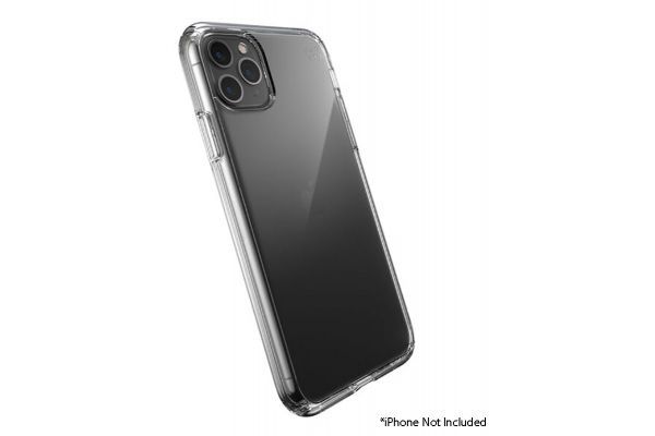 Large image of Speck Presidio Perfect-Clear Apple iPhone 11 Pro Max Case - 136505-5085