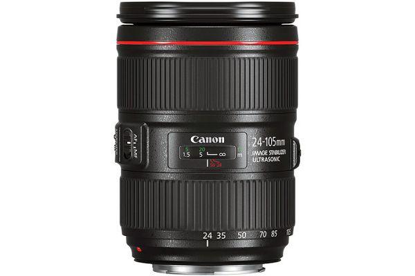 Large image of Canon EF 24-105mm f/4L IS II USM Lens - 1380C002