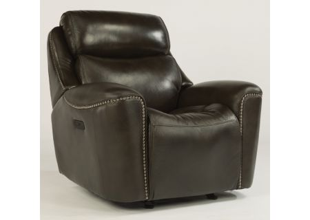 Flexsteel Mystic Leather Power Recliner With Power Headrest - 1471-54PH-014-26