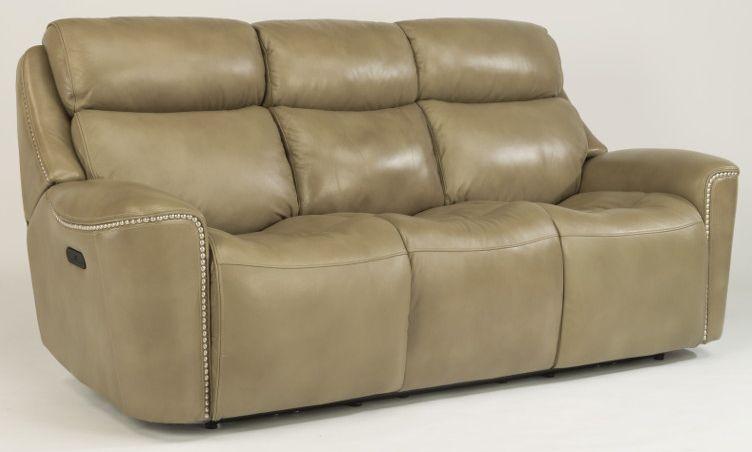 Flexsteel Mystic Power Reclining Sofa Power Headrests 1471 62ph 014 15