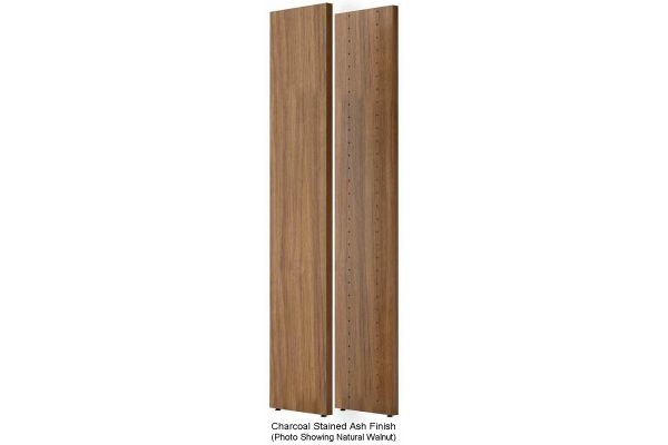 Large image of BDI Semblance Charcoal Stained Ash Tall End Panels - 15020-CRL