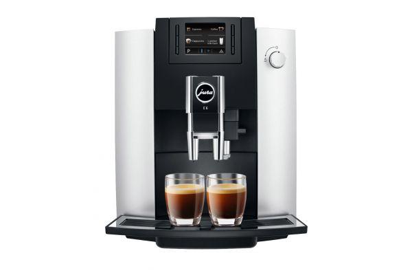 Large image of Jura E6 Platinum Espresso Machine - 15070
