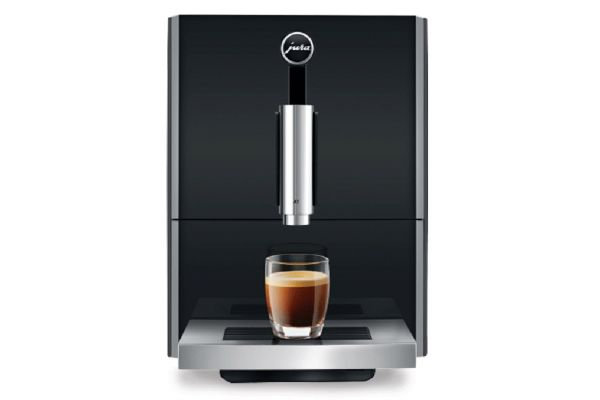 Large image of Jura A1 Piano Black Automatic Coffee Machine - 15148