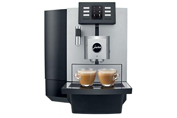 Large image of Jura X8 Chrome Automatic Coffee Machine - 15177