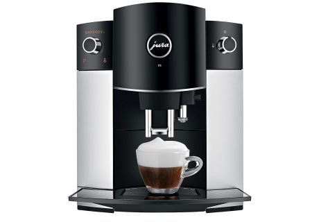 Jura D6 Stainless Steel Automatic Coffee/Espresso Machine - 15216