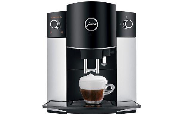 Jura D6 Stainless Steel Automatic Coffee/Espresso Machine - 15216