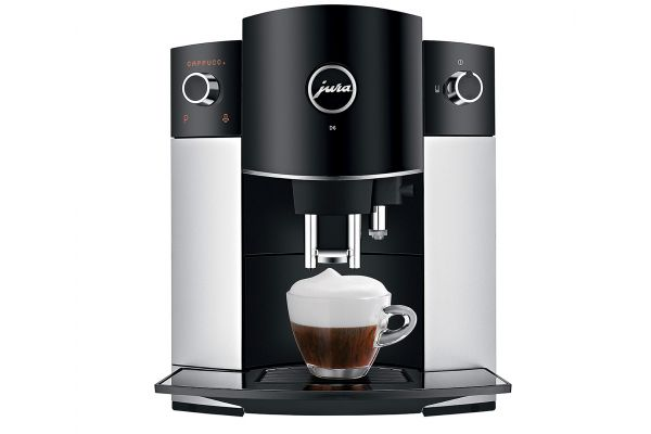 Large image of Jura D6 Platinum Automatic Coffee/Espresso Machine - 15216