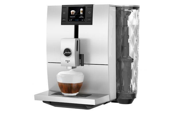 Large image of Jura ENA 8 Nordic White Automatic Coffee Machine - 15284