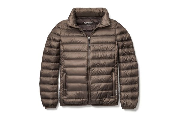 Tumi Large Clairmont Packable Travel Mink Womens Puffer Jacket - 15817MKL