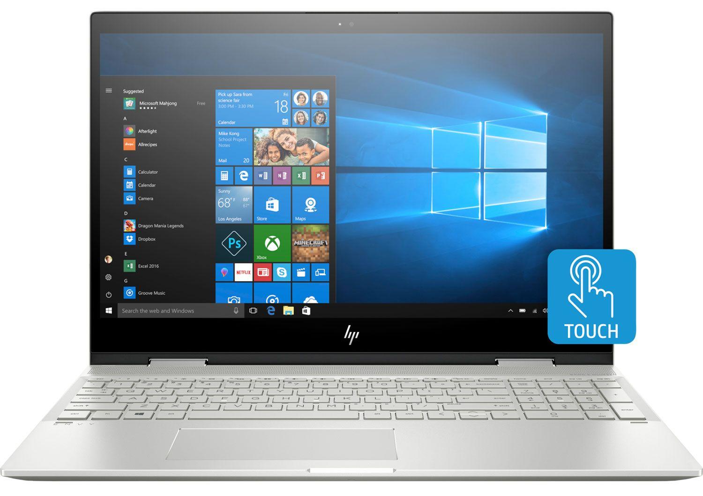 HP ENVY x360 Silver 15 6