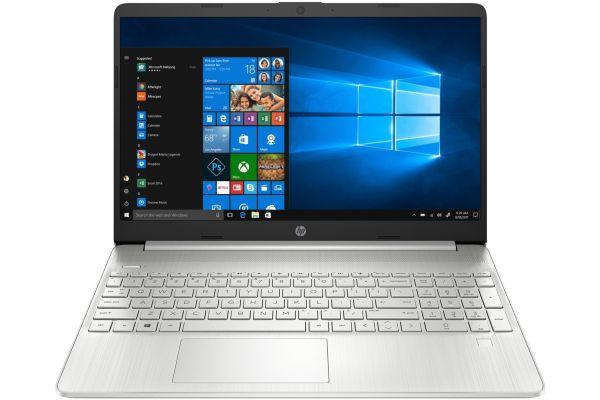 "Large image of HP 15.6"" Laptop Computer AMD Ryzen 7 3700U 12GB RAM 256GB SSD, AMD Radeon RX Vega 10 Graphics - 9LK80UAABA"