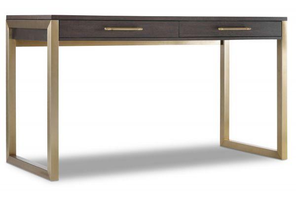 Large image of Hooker Furniture Curata Dark Wood Tall Freestanding Desk - 1600-10473-DKW