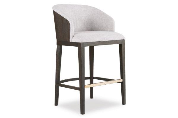 Large image of Hooker Furniture Curata Upholstered Bar Stool - 1600-20860-DKW
