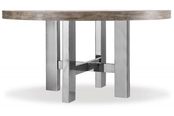 "Large image of Hooker Furniture Curata Medium Wood 60"" Round Dining Table - 1600-75201-MWD"