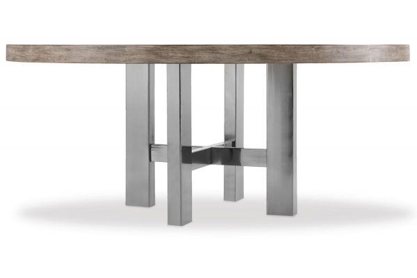 "Large image of Hooker Furniture Curata Medium Wood 72"" Round Dining Table - 1600-75211-MWD"