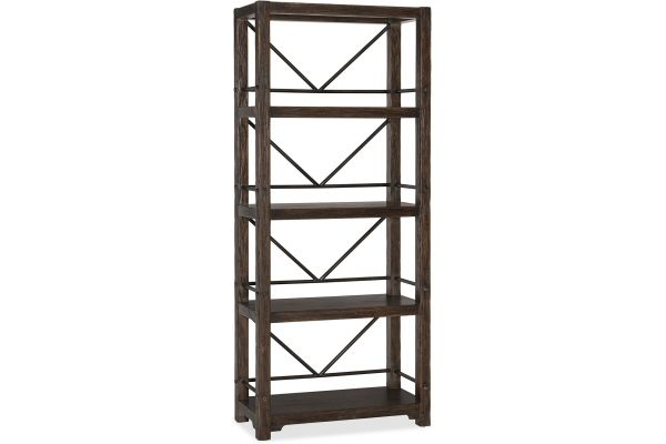 Large image of Hooker Furniture Home Office Roslyn County Etagere - 1618-10445-DKW