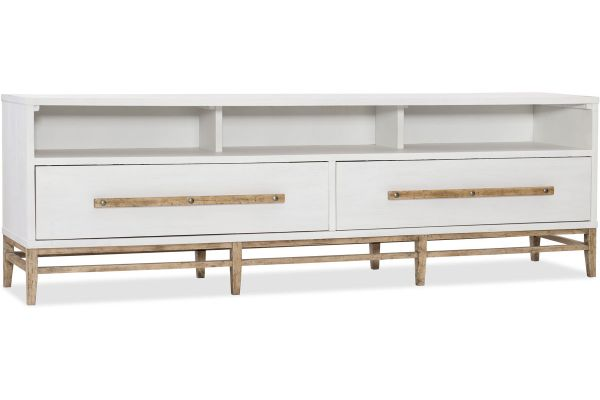 Large image of Hooker Furniture Home Entertainment Urban Elevation Low Entertaiment Console - 1620-55488-WH
