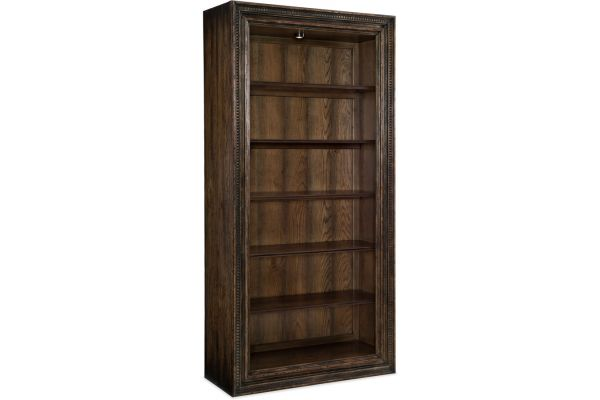 Large image of Hooker Furniture Home Office Crafted Bookcase - 1654-10443-DKW1