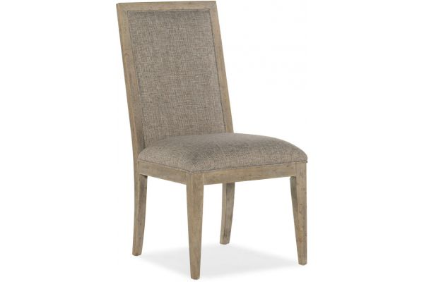 Large image of Hooker Furniture Dining Room Amani Upholstered Side Chair - 1672-75311-80