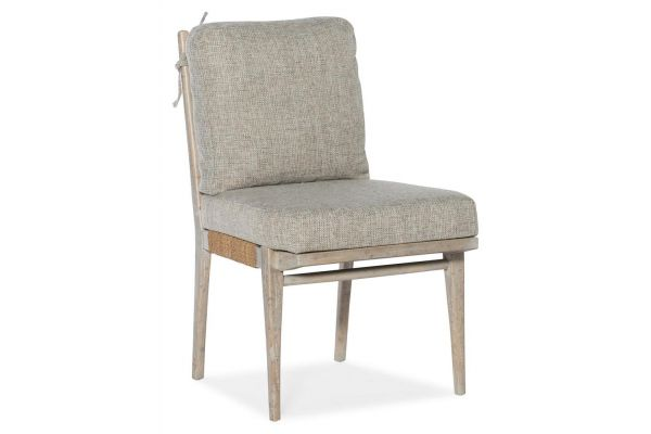 Large image of Hooker Furniture American Life Amani  Upholstered Side Chair - 1672-75312-80