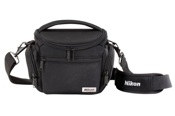 Large image of Nikon DSLR Black Compact Camera Case - 17009