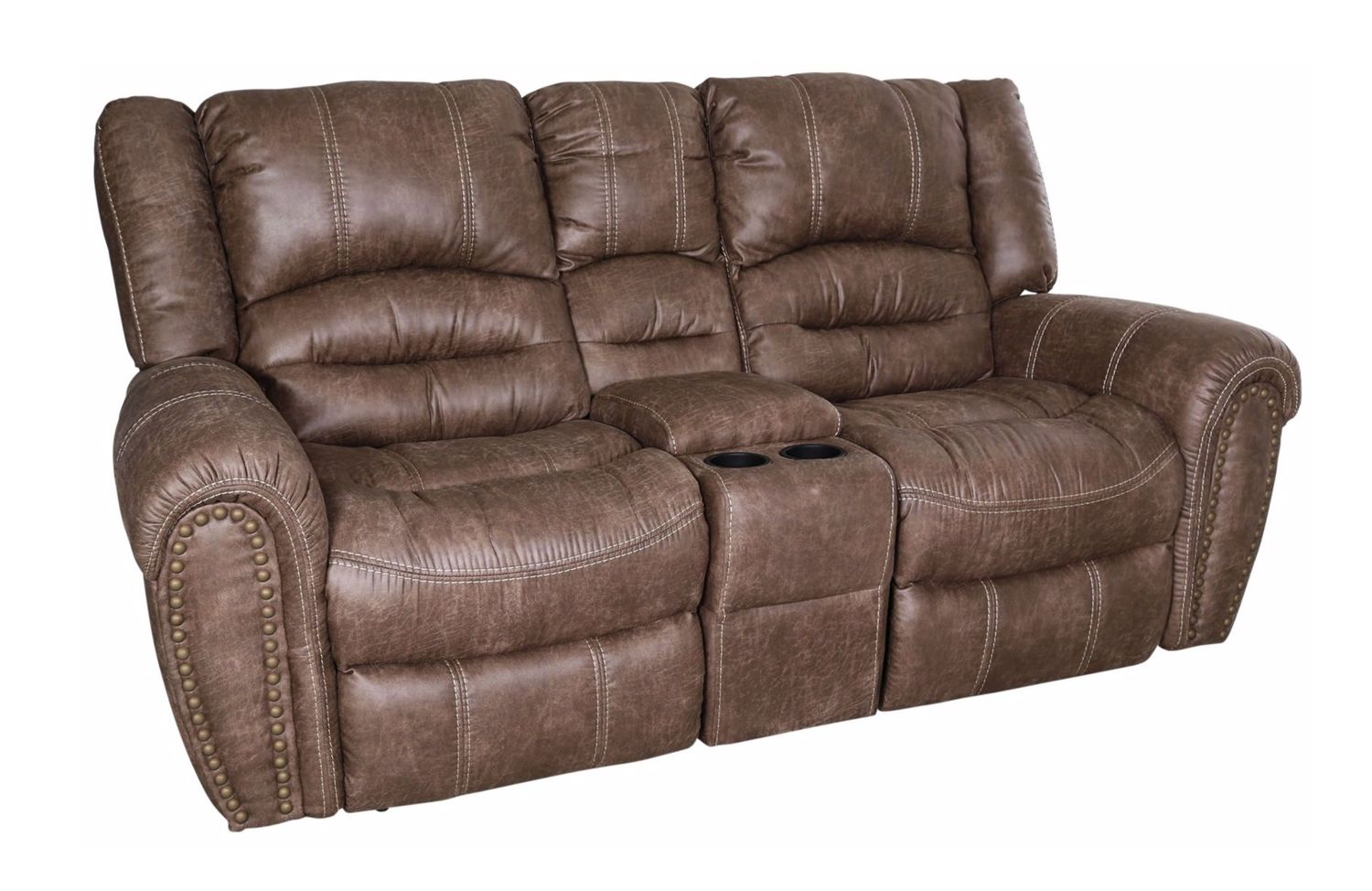 levin reclining item furniture console loveseats flexsteel product living with glider arturo video loveseat seating room additional brown