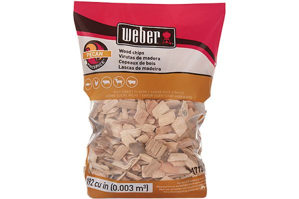 Large image of Weber Firespice Pecan Wood Chips - 17136
